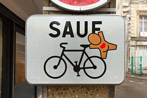 Aménagement et signalisation cycliste