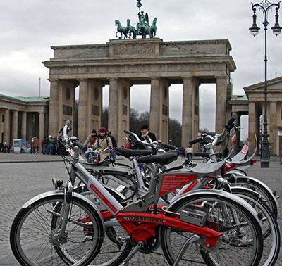 Le système de VLS allemand Call a Bike à Berlin