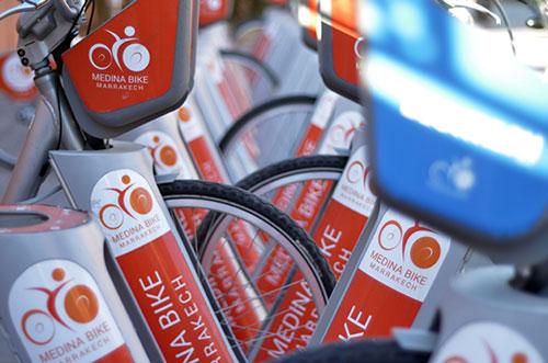 Vélo en libre-service dans le monde, Medina Bike à Marrakech