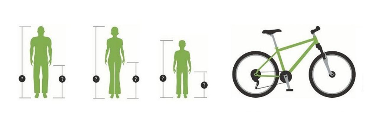 Comment choisir son vélo par rapport à la taille du cycliste ?