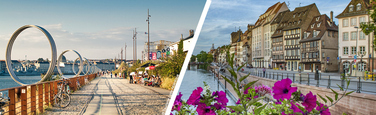Le vélo à Nantes et Strasbourg, une rivalité cyclable ?