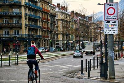 Grenoble, une politique cyclable avant-gardiste