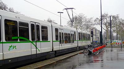 Nantes a su aménager son centre-ville aux transports
