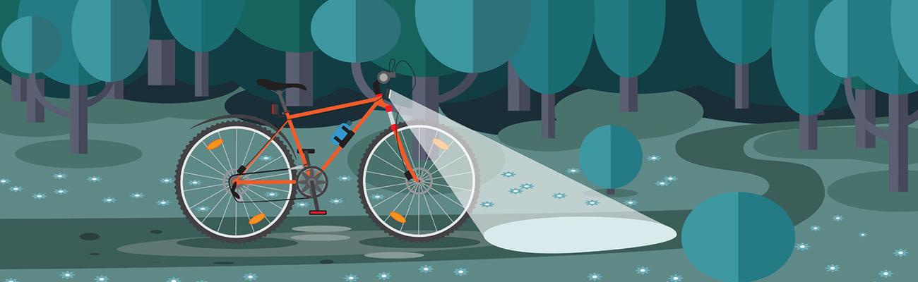 Signalisation, quelle différence entre éclairage vélo actif et passif ?