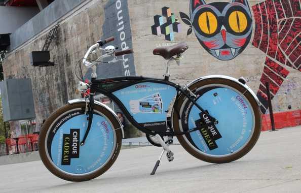 Nantes accueille les vélos publicitaires