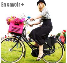 Jupe imperméable pour cycliste