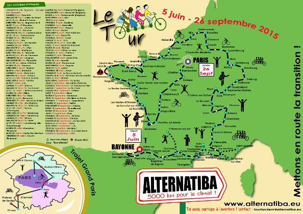Le Tour Alternatiba : un périple à vélo pour le climat