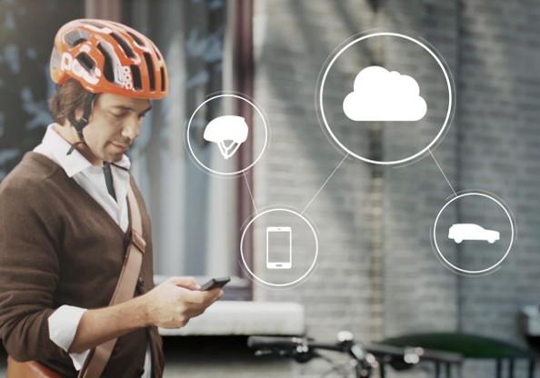 Sécurité des cyclistes : un casque de vélo high tech signé Volvo