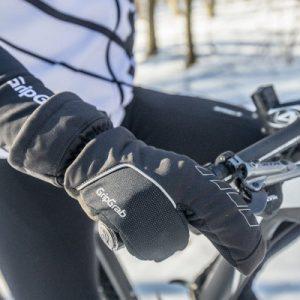 Gants hiver vélo Gripgrab