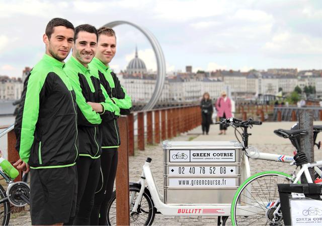 Green Course, livraison à vélo en ville
