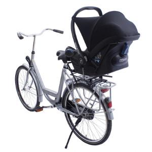 Porte landau pour bébé à vélo