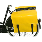 Sacoches de vélo en tarpaulin jaune