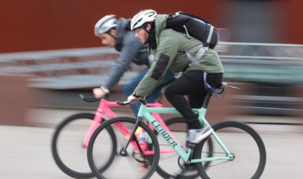 Kebi : la 1e société de coursiers à vélo basée à Rouen