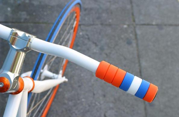 Créer ses poignées de vélo personnalisées avec les GripRings