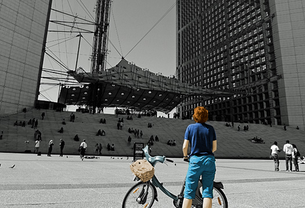 Des vélos à la Défense jusqu'au 13 septembre 2015
