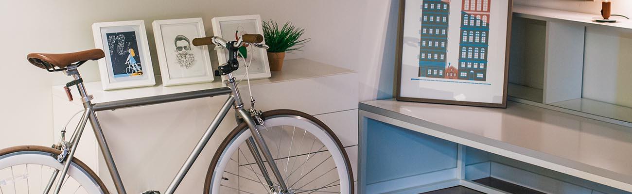 Idées pour une décoration d'intérieur 100% vélo