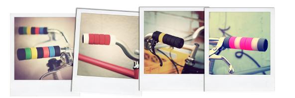 Guidon de vélo coloré
