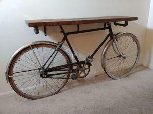 vélo meuble déco intérieur upcycling