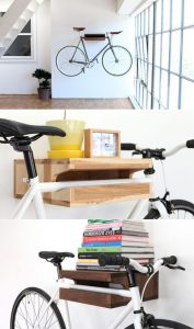 vélo déco maison support de fixation mural
