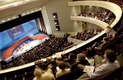 Au coeur du Centre des Congrès