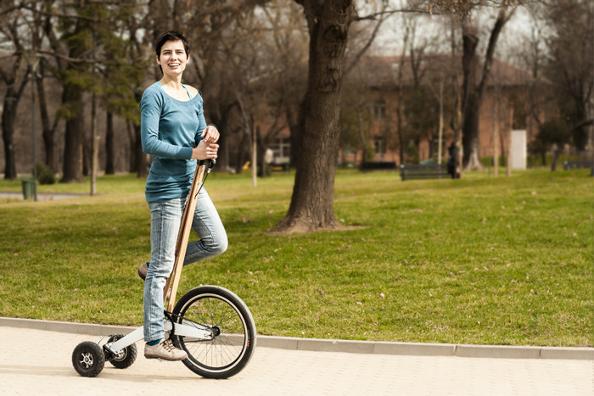 Innovation: Halfbike, le vélo du futur ?