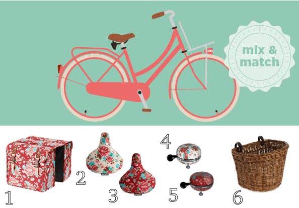 Accessoires vélo femme basil