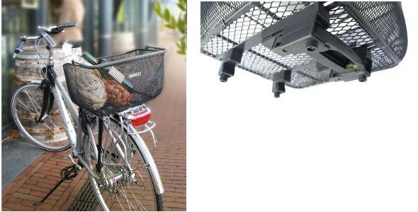 basil catu panier vélo sur porte bagage