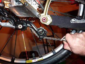 Réparer vélo : chaine qui fait du bruit