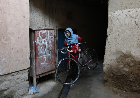 Les femmes afghanes privées de vélo : plusieurs moyens d'y faire face