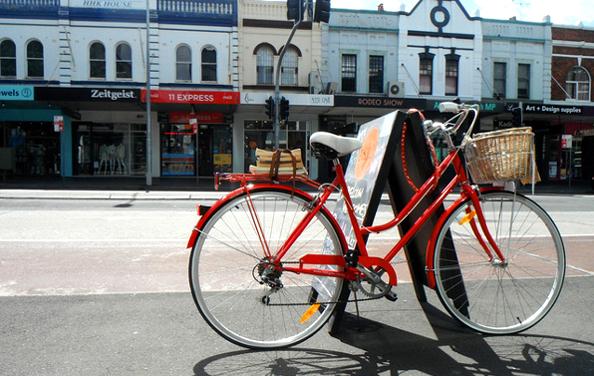 Accueillir au mieux les cyclistes dans un commerce