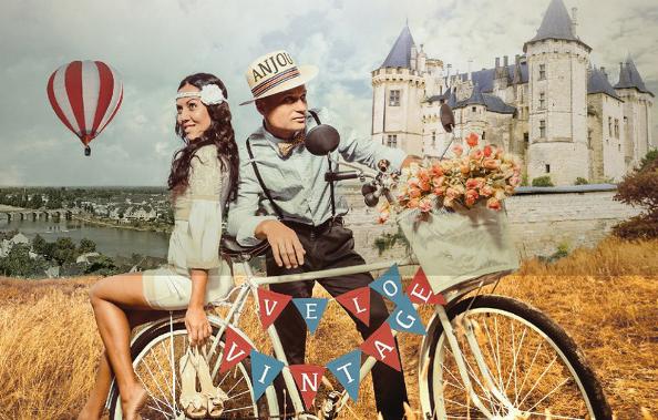 Les 13 et 14 juin, rendez-vous à Saumur pour l'Anjou Vélo Vintage