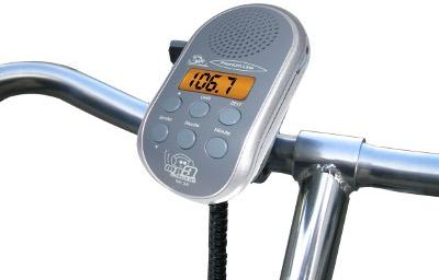 Radio FM pour vélo avec écran LCD et connecteur pour lecteur MP3