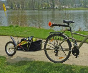 carriole pour vélo bob ibex