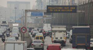 La pollution atmosphérique via les voitures