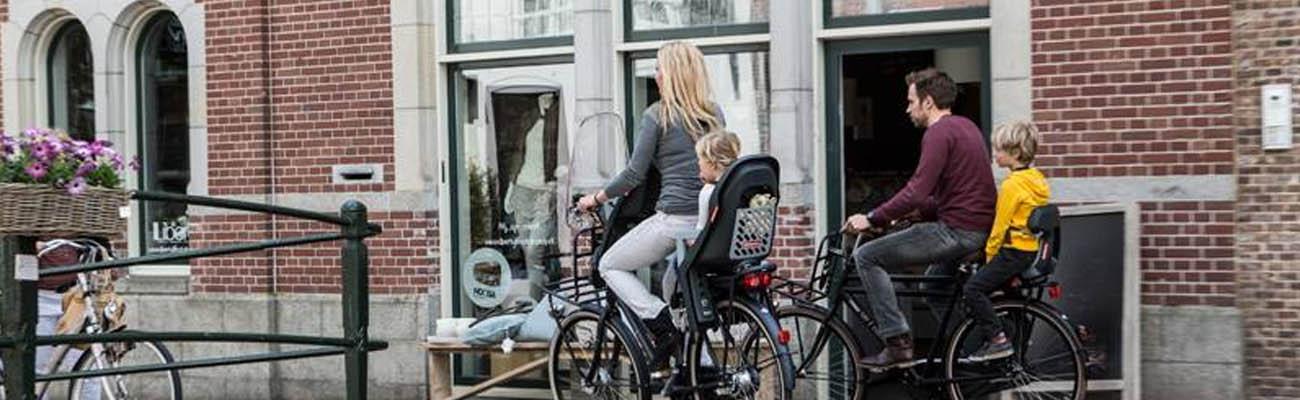 Polisport, des sièges vélo enfants pour tous les âges