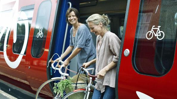 Prendre le train avec son vélo