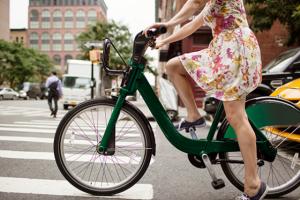 Vélo en robe