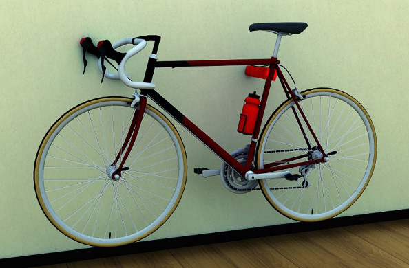 Le cool bike rack ranger son v lo avec originalit - Accrocher velo garage ...
