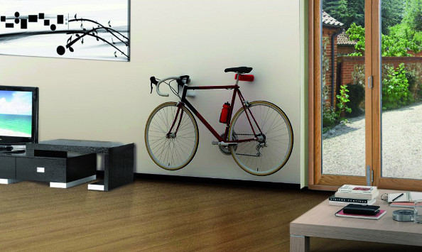 le cool bike rack ranger son v lo avec originalit. Black Bedroom Furniture Sets. Home Design Ideas