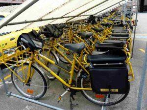La Poste, un exemple de flotte de vélos d'entreprise