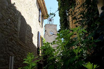 Le village d'Ansouis, dans le Pays d'Aigues