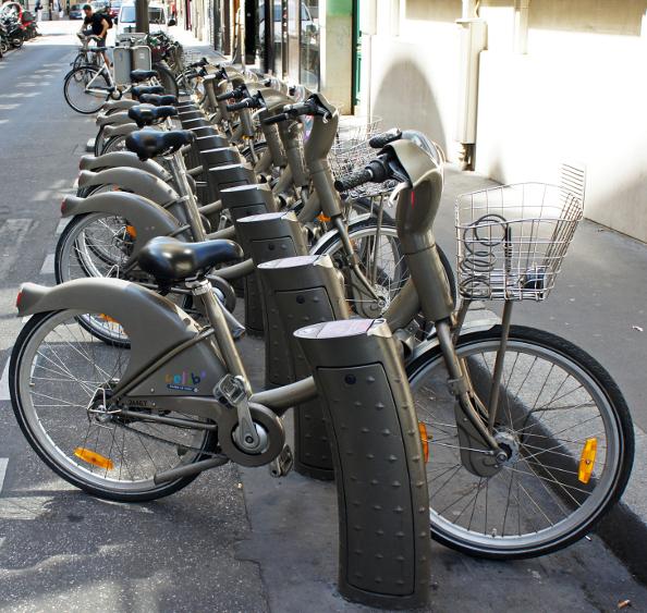 Le Vélib', un concept français devenu mondial