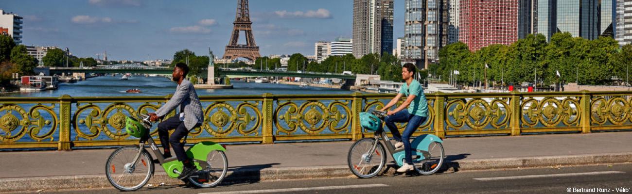 Vélib' : le vélo libre-service parisien