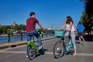 Balade en Vélib' sur les bords de Seine