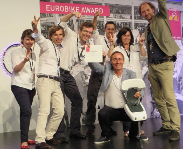 Eurobike : le siège Guppy Junior récompensé !