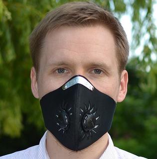 masque anti polluant pour vélo