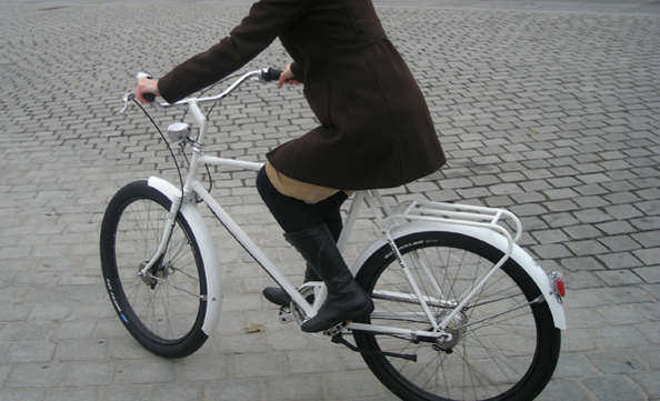Les « balloon bikes » et les « pneus ballons »