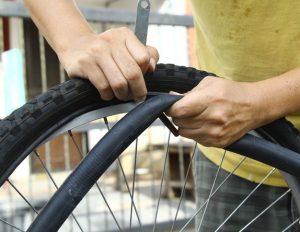 changer sa chambre à air vélo