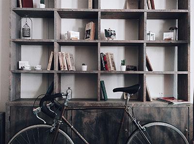 Assurance contre le vol du vélo à l'intérieur de la maison