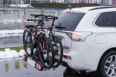 L'assurance automobile protège contre le vol sur un porte vélo